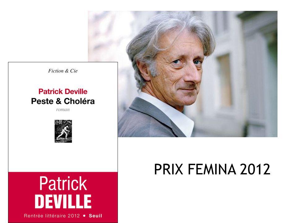 PRIX FEMINA 2012
