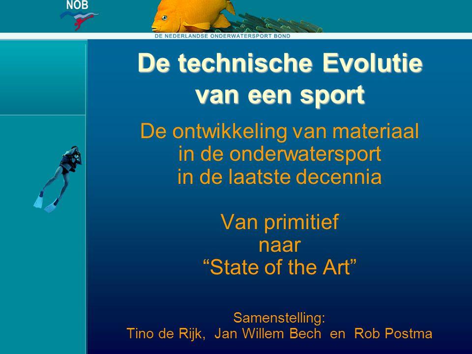 """De technische Evolutie van een sport De ontwikkeling van materiaal in de onderwatersport in de laatste decennia Van primitief naar """"State of the Art"""""""
