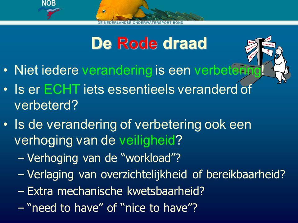 Link naar middagprogramma De nieuwe 'Richtlijnen voor veilig duiken' geven de duiker meer vrijheid, o.a.