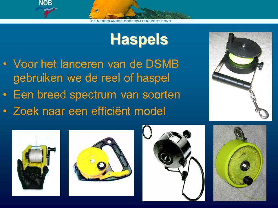 Haspels Voor het lanceren van de DSMB gebruiken we de reel of haspel Een breed spectrum van soorten Zoek naar een efficiënt model