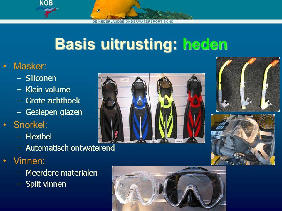Gesloten rebreathers: toekomst Goedkopere systemen Decompressie berekening 'on the fly' Verbetering van veiligheidssystemen CO2 detectie Betere backup (Bailout) systemen Units worden lichter