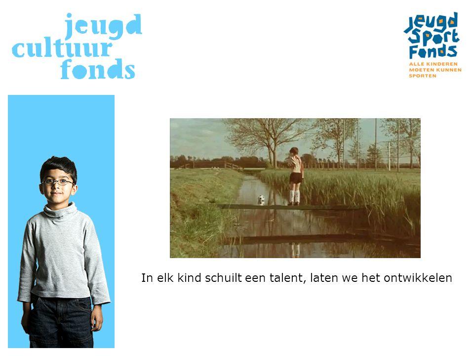 In elk kind schuilt een talent, laten we het ontwikkelen