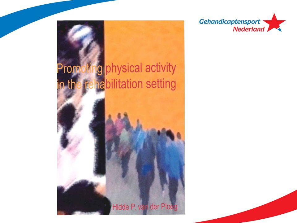 Onderzoek conclusies positief Combinatie interventies is positief Resultaten zichtbaar na een jaar (beklijfd gedrag) Stijging sportdeelname en dagelijkse lichamelijke activiteit Verbeterde gezondheid Fitter Beter dagelijks functioneren (ook sociaal en maatschappelijk)