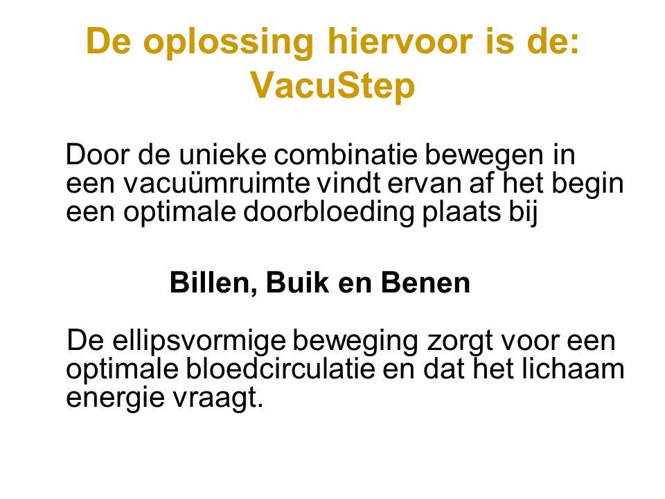 Vacuüm zorgt ervoor dat er weer een doorbloeding plaatsvindt tussen de cellen bij billen, buik en benen.