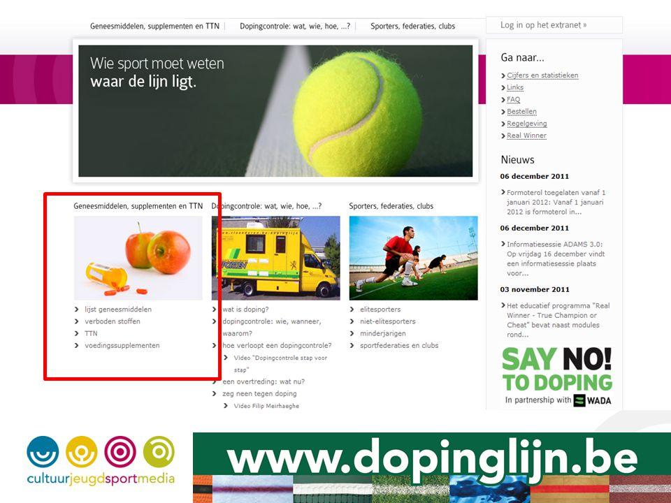 Dopingcontrole Hoe.