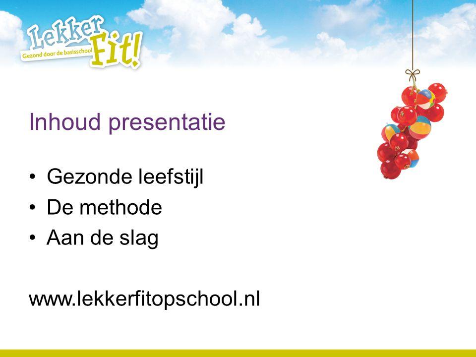 Aanpak Preventie Investeren in gezondheid van jonge kinderen Speerpunt volksgezondheidbeleid Aanpak gemeente, GGD, Sportservice enz Belangrijke rol voor basisschool.