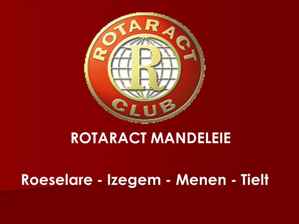 ROTARACT MANDELEIE Roeselare - Izegem - Menen - Tielt