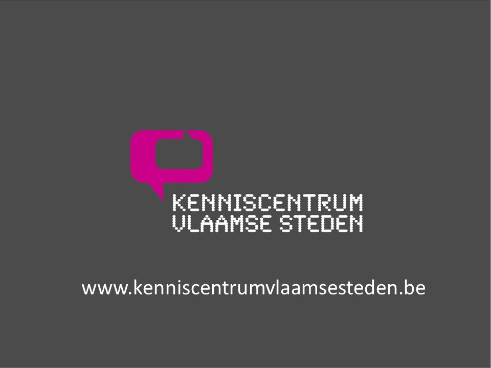 www.kenniscentrumvlaamsesteden.be