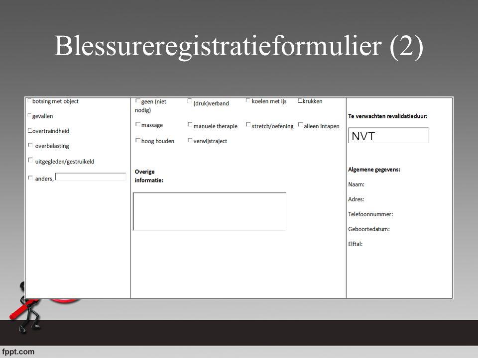 Blessureregistratieformulier (2) NVT