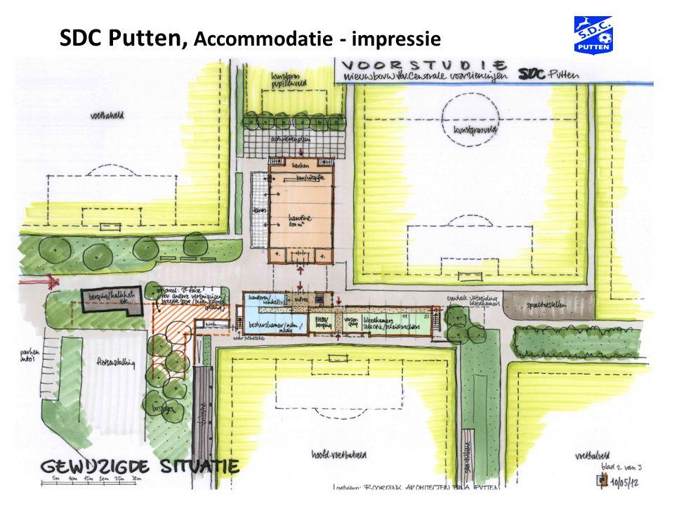 SDC Putten, Accommodatie - impressie