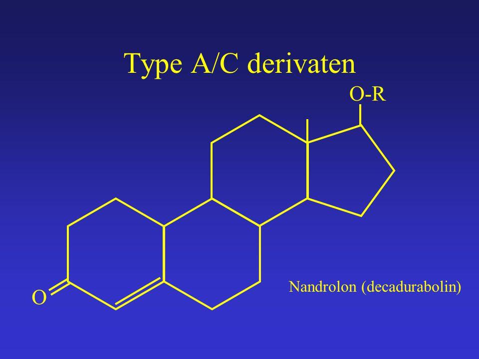 Type A/C derivaten O O-R Nandrolon (decadurabolin)