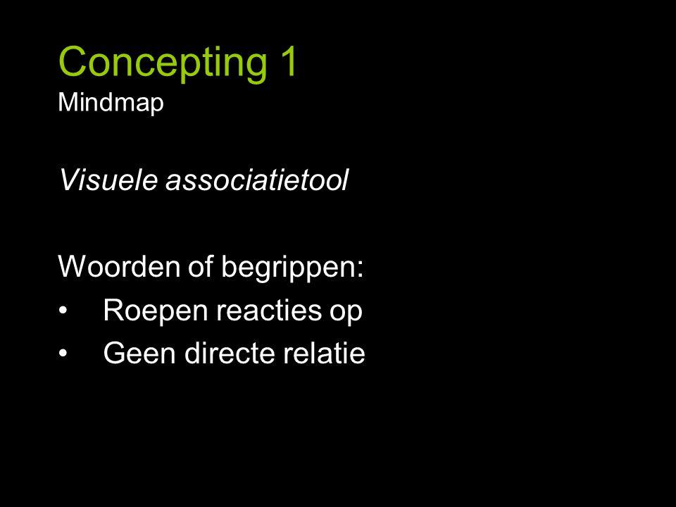 Concepting 1 Conceptmap, oefening Ieder kind onder de 12 krijgt een laptop van de Nederlandse Staat.