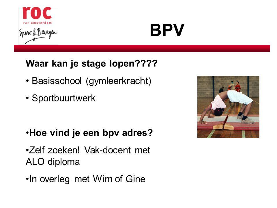 Doorstroommogelijkheden (Verkorte) studie-mogelijkheden op hbo: - ALO Amsterdam - HBO Fysiotherapie HVA - Ergotherapie - SPH - PABO