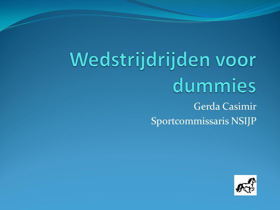 Gerda Casimir Sportcommissaris NSIJP