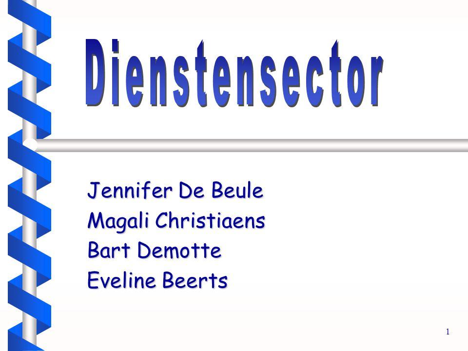 1 Jennifer De Beule Magali Christiaens Bart Demotte Eveline Beerts