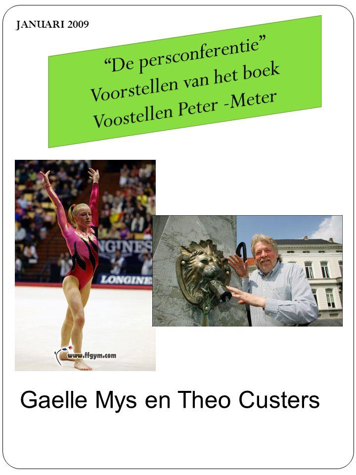 JANUARI 2009 Gaelle Mys en Theo Custers