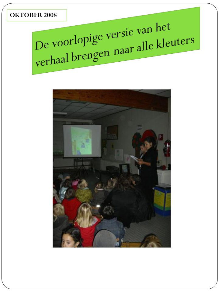 Afspraken maken rond de 2 sportdagen in februari 2009 met Okan-leerkracht.