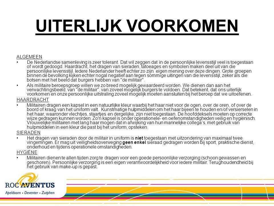 UITERLIJK VOORKOMEN ALGEMEEN De Nederlandse samenleving is zeer tolerant. Dat wil zeggen dat in de persoonlijke levensstijl veel is toegestaan of word