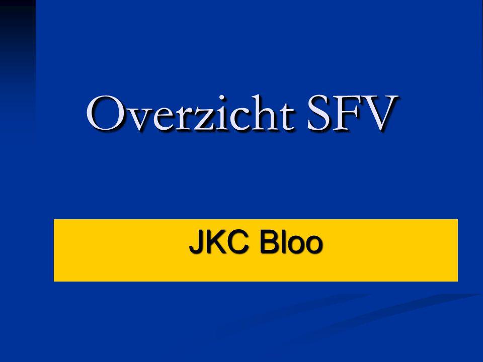 Overzicht SFV JKC Bloo