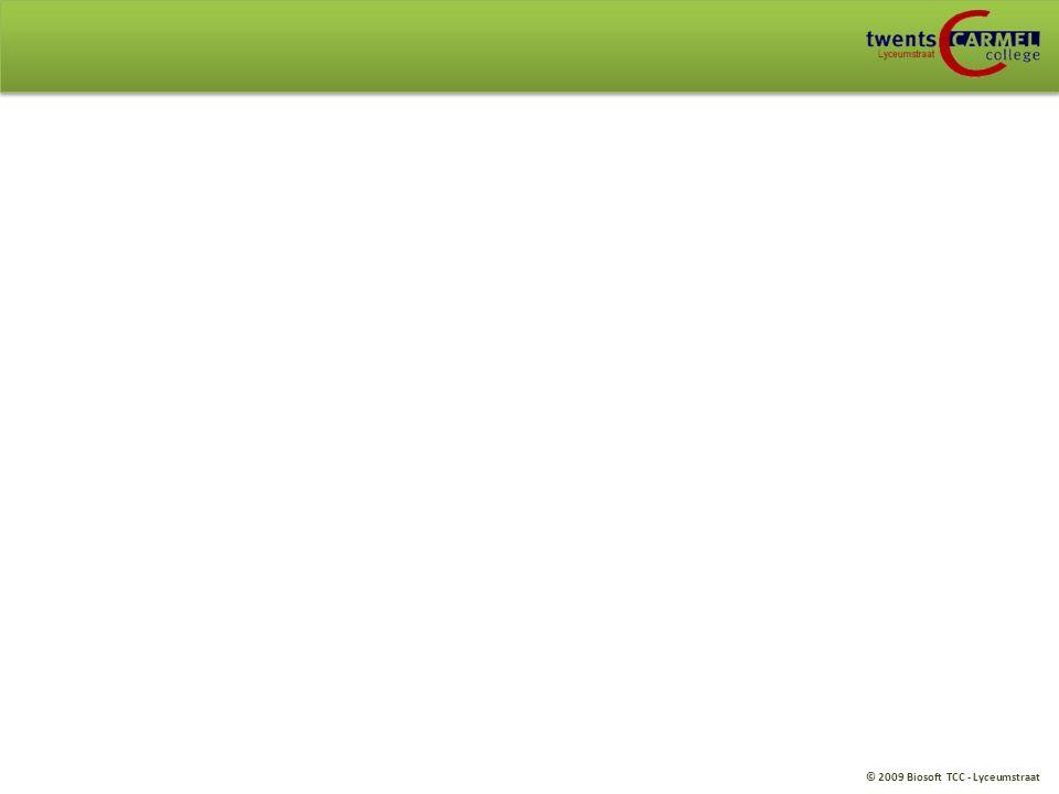 © 2009 Biosoft TCC - Lyceumstraat Verband assimilatie/dissimilatie H4. Planten: blz. 128 – 129: Samenhang tussen diss/ass (OB; opdracht 14 t/m 17)