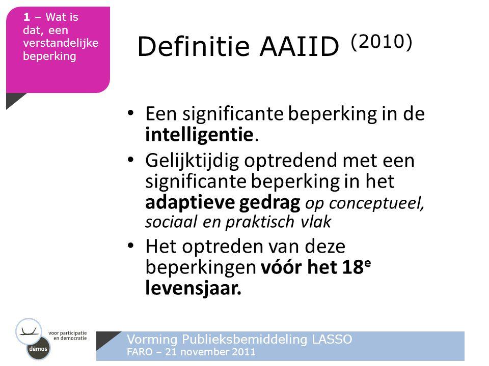 Vorming Publieksbemiddeling LASSO FARO – 21 november 2011 3 – Hoe drempels wegnemen.
