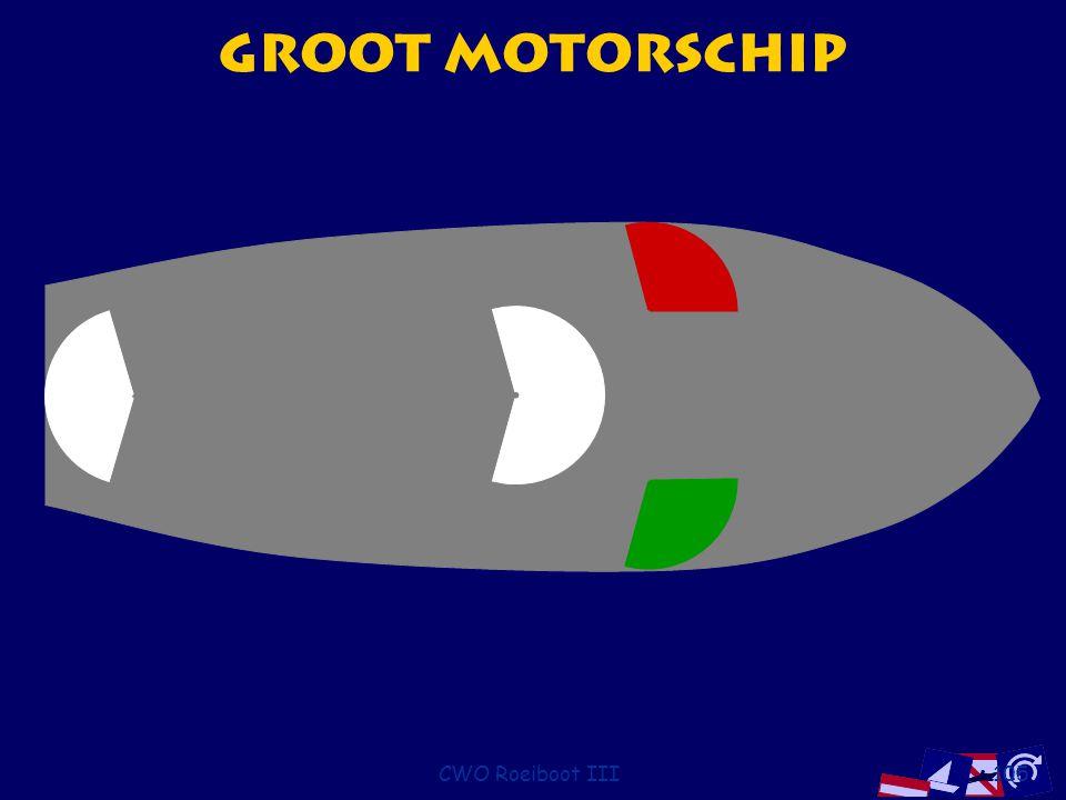 CWO Roeiboot III105 Groot Motorschip