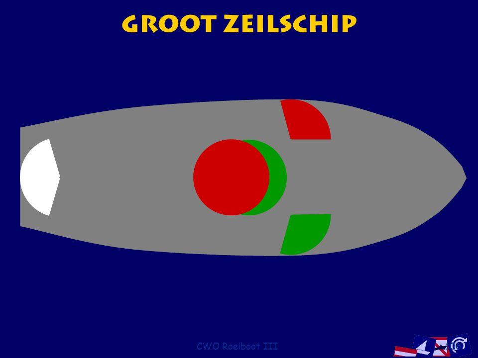 CWO Roeiboot III106 Groot Zeilschip