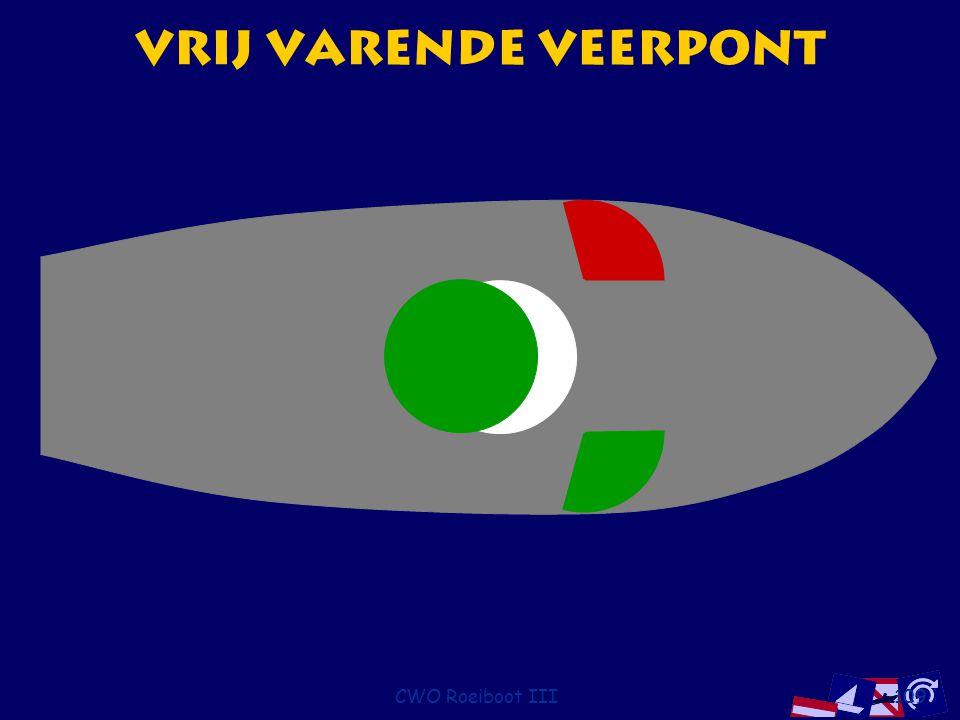 CWO Roeiboot III109 Vrij varende Veerpont