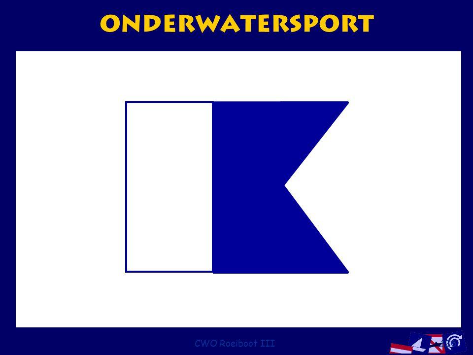 CWO Roeiboot III126 onderwatersport