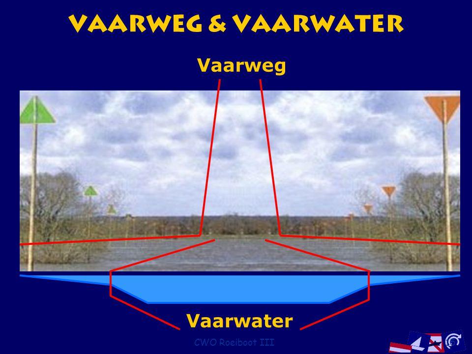 CWO Roeiboot III15 Vaarweg & Vaarwater Vaarwater Vaarweg