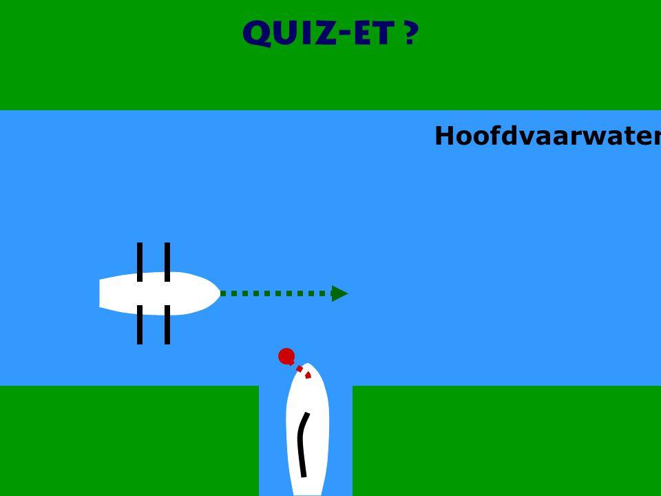CWO Roeiboot III46 Quiz-et ? Hoofdvaarwater