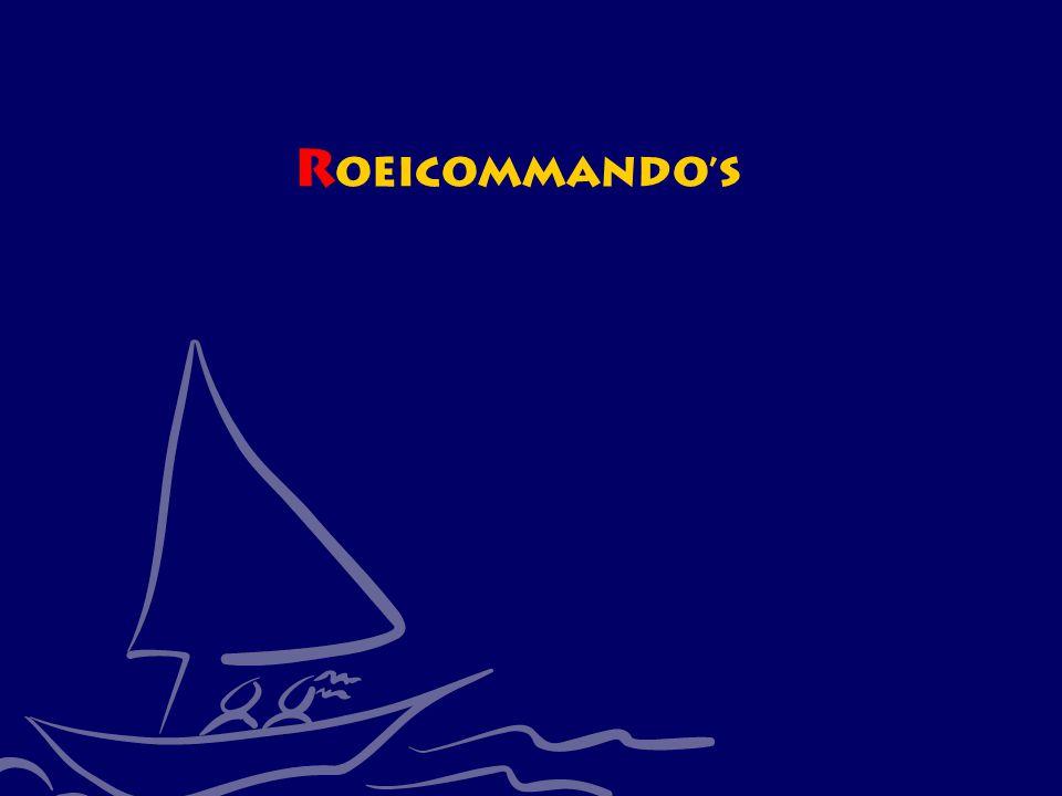 CWO Roeiboot III49 R oeicommando's
