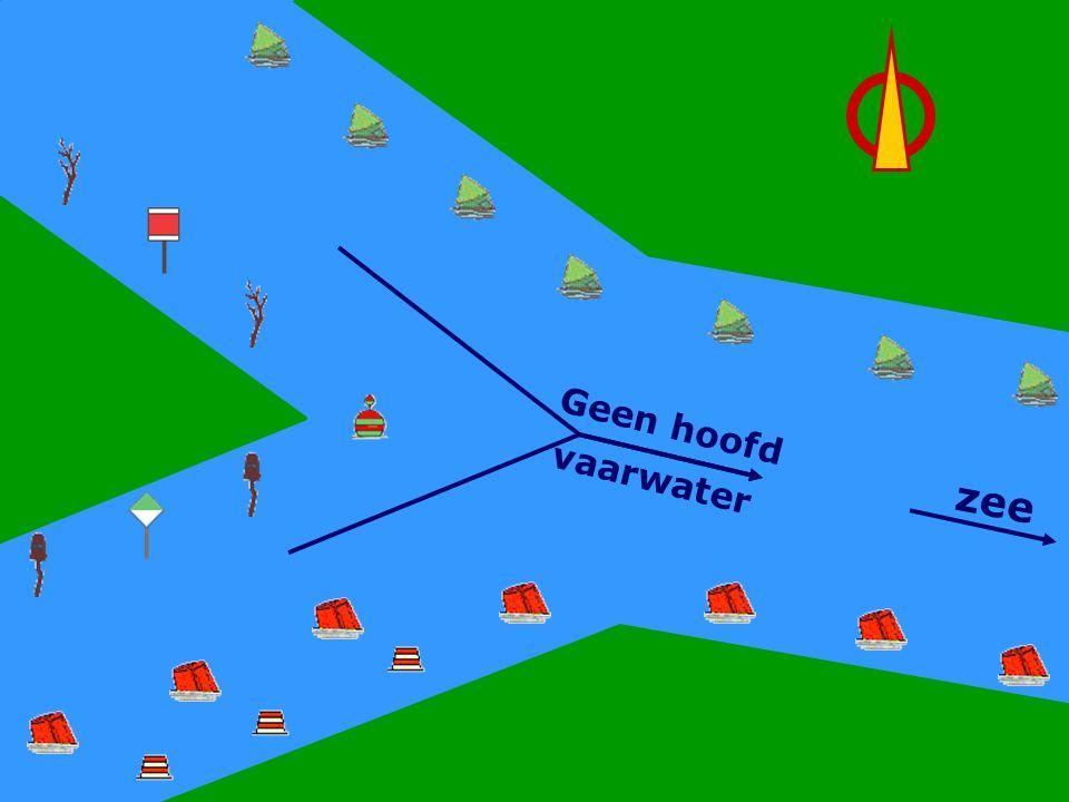 CWO Roeiboot III91 Geen Hoofdwater Geen hoofd vaarwater zee