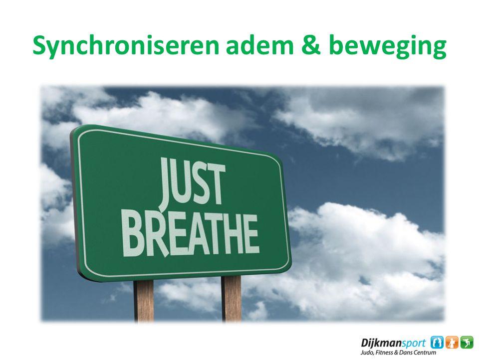 Synchroniseren adem & beweging