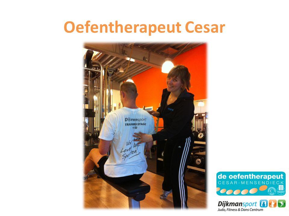 Oefentherapeut Cesar