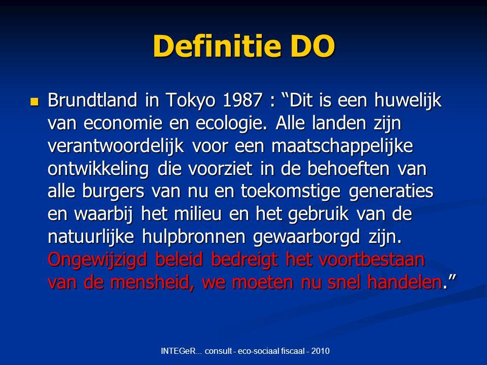 INTEGeR...consult - eco-sociaal fiscaal - 2010 Voordelen spiegelcentrales t.o.v.