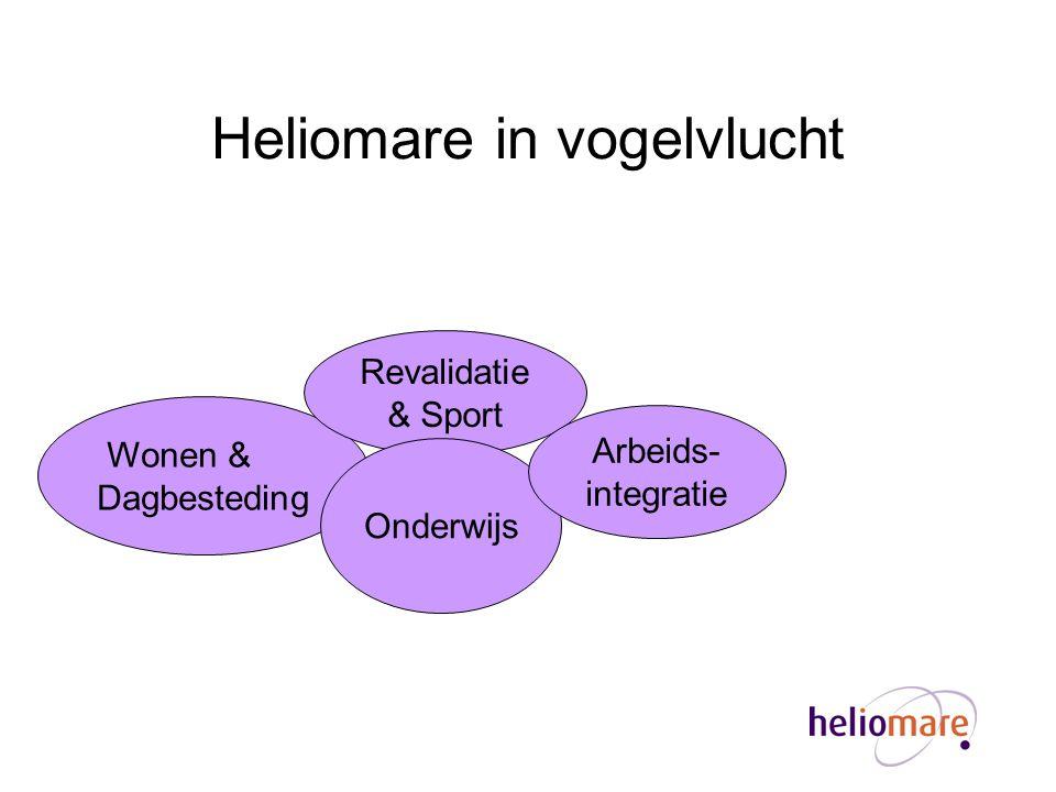 Heliomare in vogelvlucht Wonen & Dagbesteding Revalidatie & Sport Onderwijs Arbeids- integratie