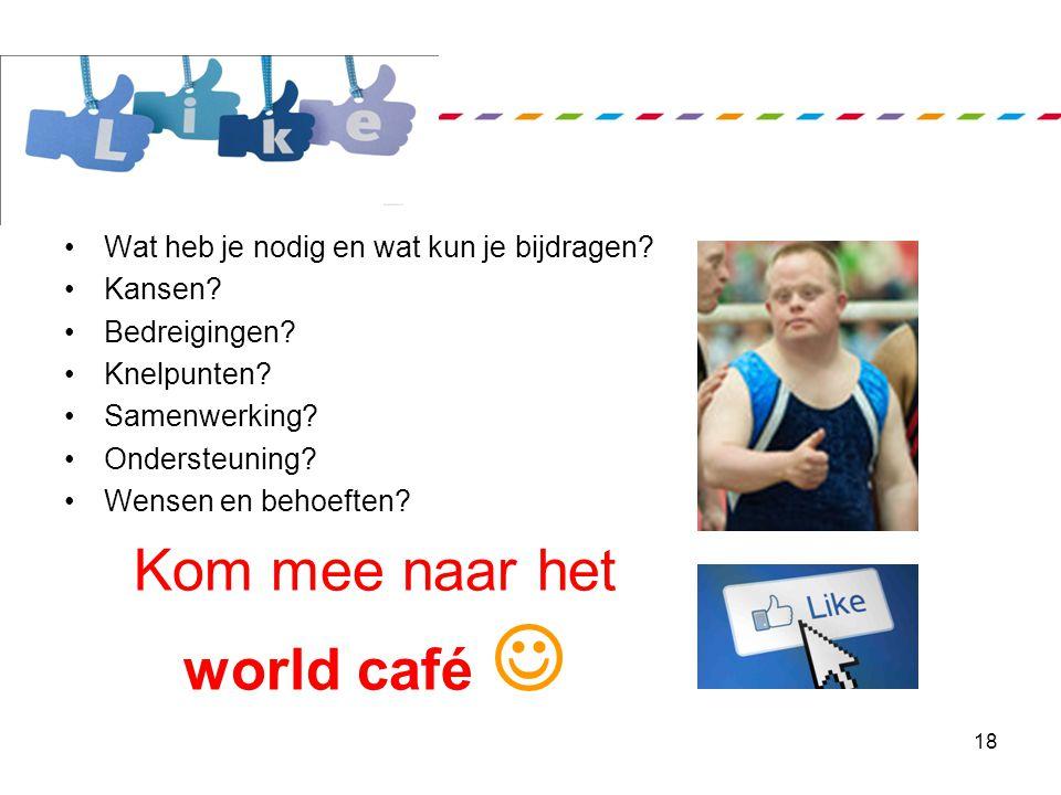 """""""www.specialsportloket.nl"""" 1. Sportaanbod voor mensen met een beperking 2. Zoekfunctie 3. Nieuws 4. Informatie voor de doelgroep en sportaanbieders 5."""