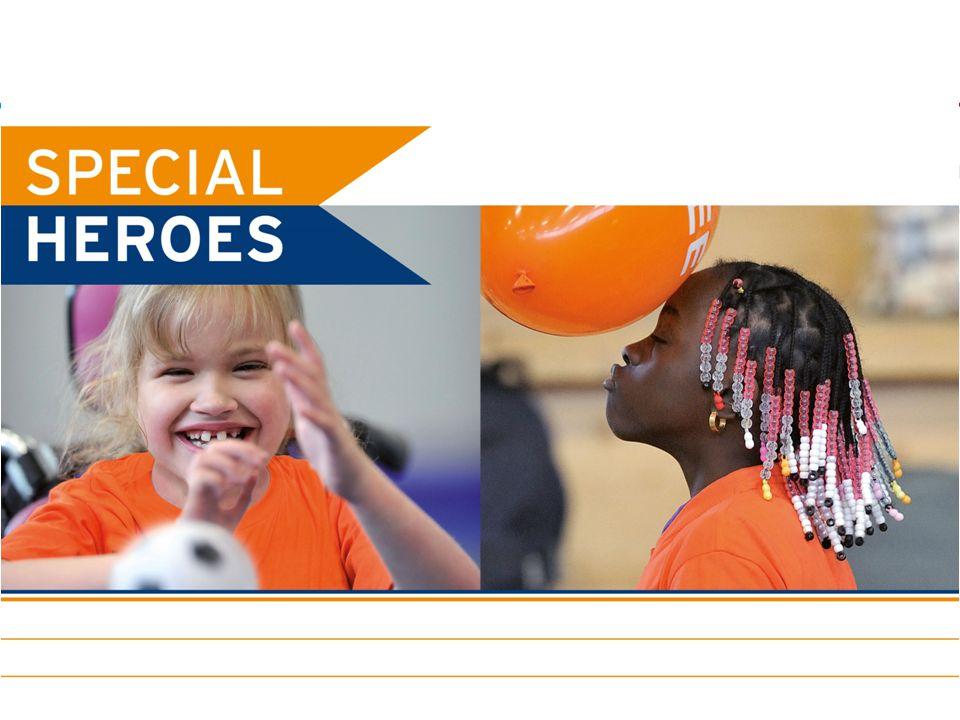 Aanbod regio Divers aanbod door sportaanbieders en andere partijen > 65 aanbieders met speciaal aanbod voor de doelgroep Bij ± 50% sportaanbieders sporten mensen met een beperking Jaarlijks diverse grote- en kleinschalige evenementen Sportstimulering: Special Heroes, inzet CF / buurtsportcoaches, Zo kan het ook, ASH.