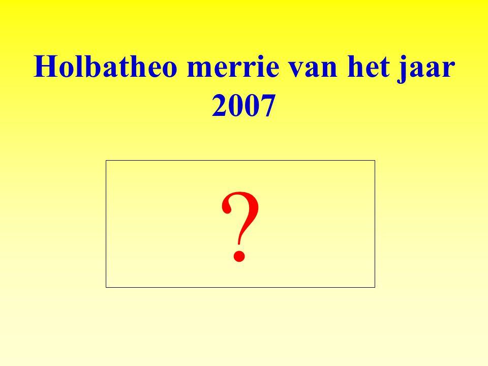 Holbatheo merrie van het jaar 2007