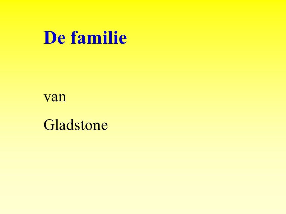 De familie van Gladstone