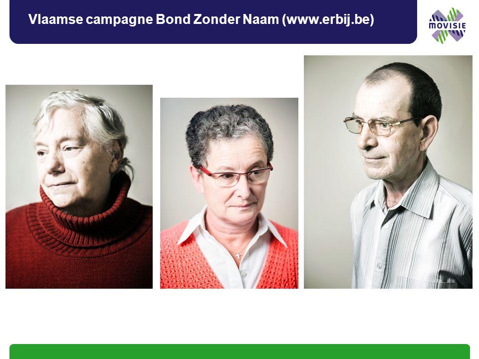 Vlaamse campagne Bond Zonder Naam (www.erbij.be)