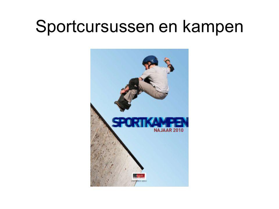 Sportcursussen en kampen