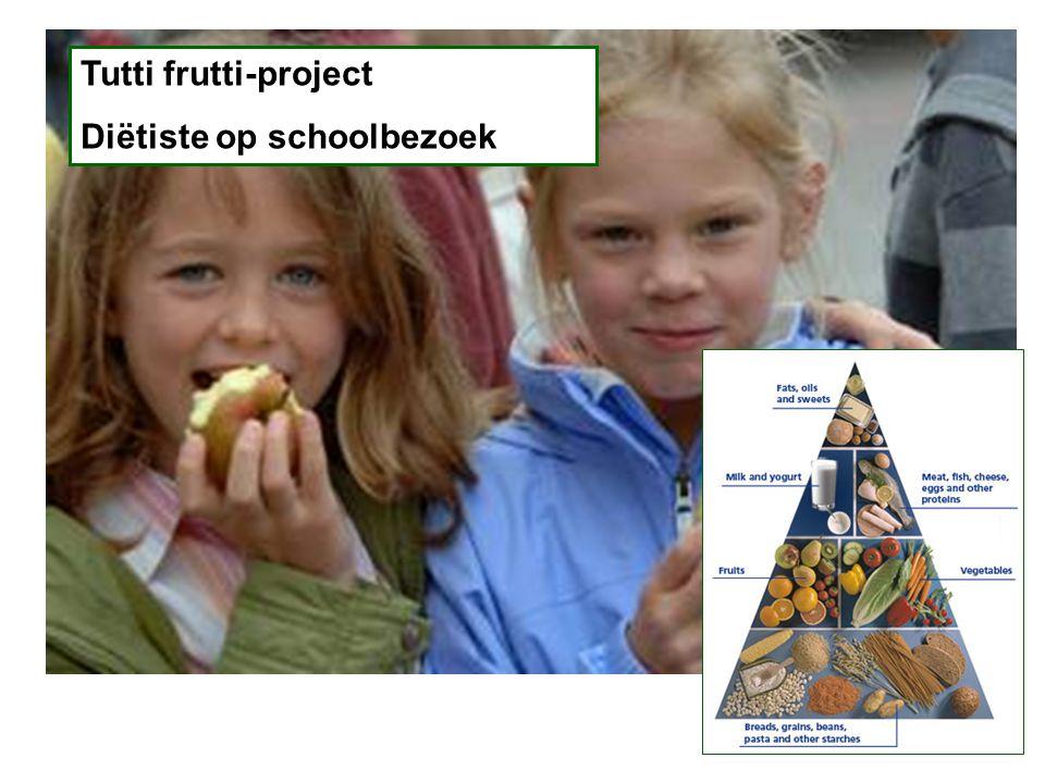 Tutti frutti-project Diëtiste op schoolbezoek