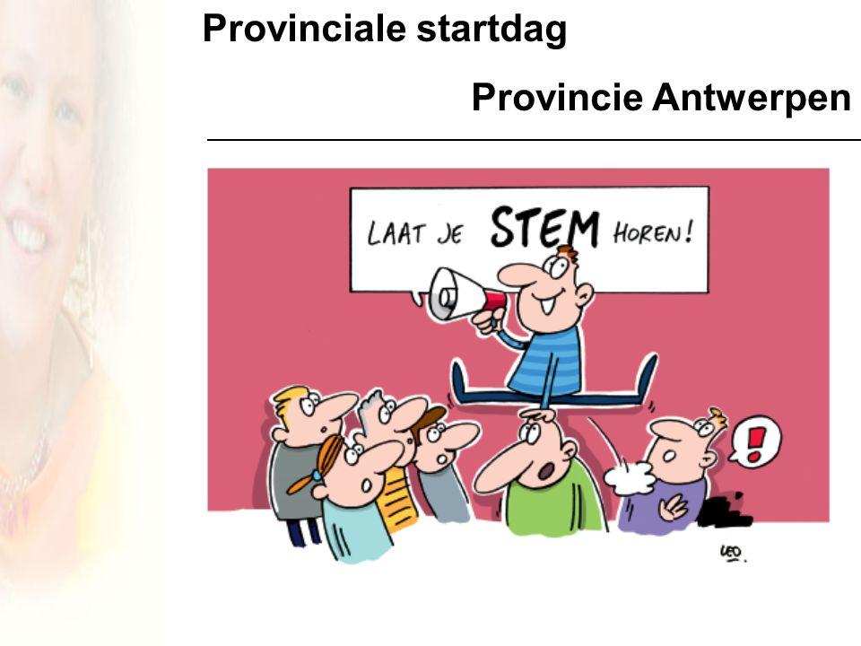 Provinciale startdag Provincie Antwerpen