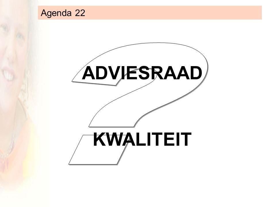 ADVIESRAAD KWALITEIT