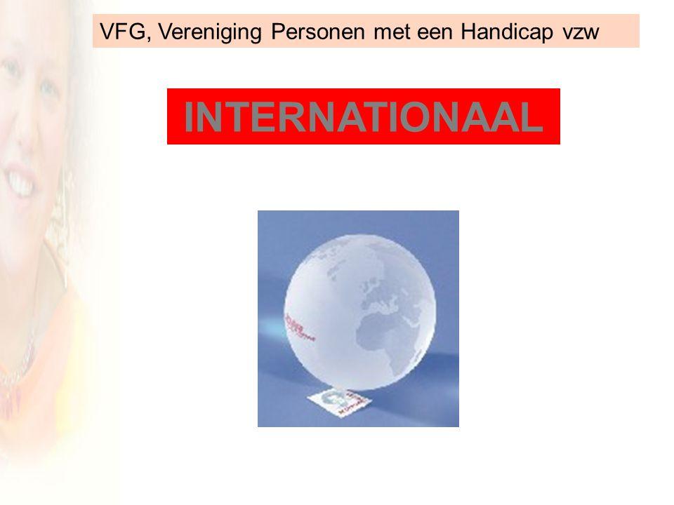 VFG, Vereniging Personen met een Handicap vzw INTERNATIONAAL