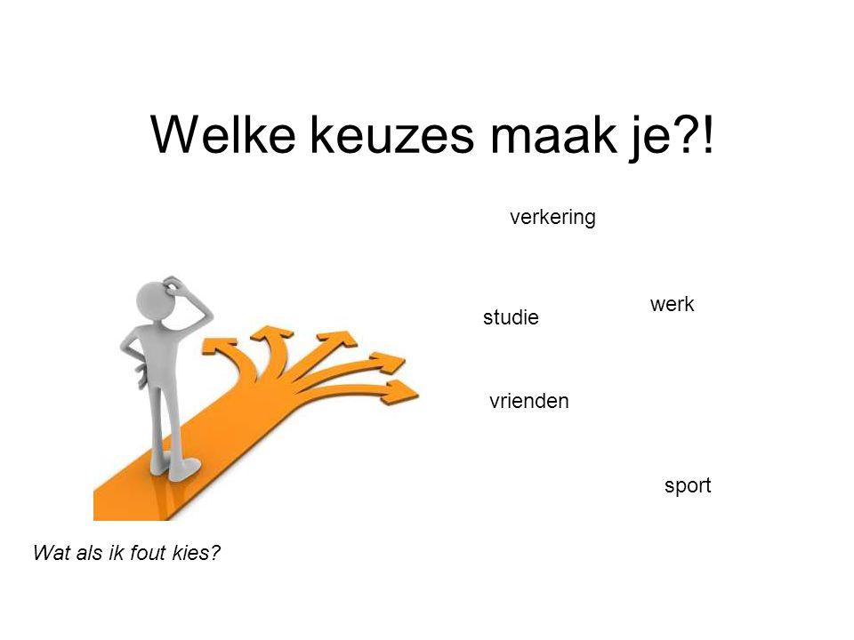 Welke keuzes maak je?! verkering studie sport vrienden werk Wat als ik fout kies?