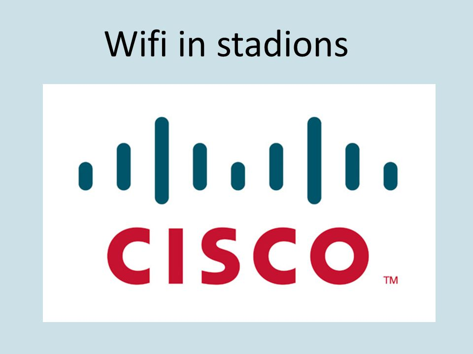 Wifi in stadions