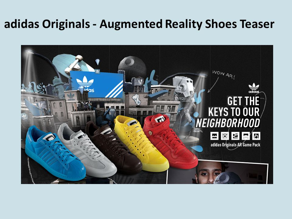 adidas Originals - Augmented Reality Shoes Teaser